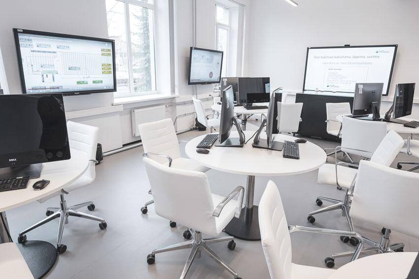 Tallinna Tehnikakõrgkooli logistika simulatsioonilabor